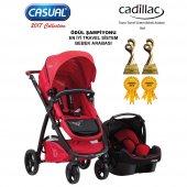 Casual Cadillac Trona Bebek Arabası Red
