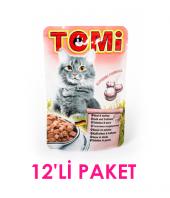 Tomi Danalı Ve Hindili Kedi Yaş Maması 100 Gr