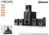 Mikado Md 505 5+1 Usb+sd+fm Destekli Bluetooth Speaker Sinema Sistemi