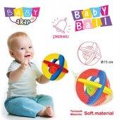 Akar Oyuncak Çıngıraklı Bebek Topu Küçük