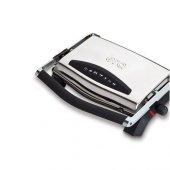 Era Sm 21 Press Paslanmaz Çelik Çıkarılabilir Plakalı Izgaralı Tost Makinesi