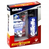 Gillette Blue 3 6 Lı Pride + Gillette Traş Köpüğü 200 Ml
