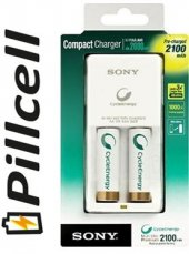 Sony Compact Pil Şarj Cihazı 2100 Mah
