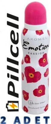 Emotion Deodorant Passıon 150 Ml * 2 Adet