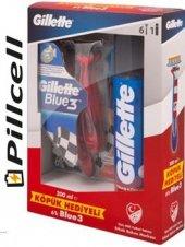 Gillette Blue Iıı 6 Lı Pride + Gillette 200 Ml Traş Köpüğü