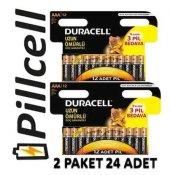 Duracell Alkaline 9+3 Aaa İnce Pil Ekonomik Paket * 2 Adet