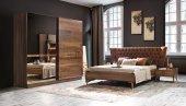 Valka Ceviz Yatak Odası