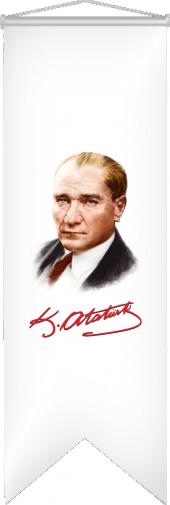 Atatürk Resmi 50x150