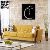 Dekoratif Ahşap Duvar Tablosu 038