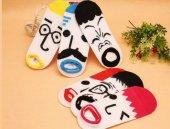 Surat Figürlü Eğlenceli Çoraplar