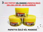 3 Adet Pakface Papatya Özlü Kil Maskesi 250+250+250 Gr