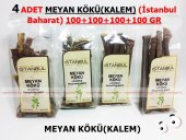 4 Adet Meyan Kökü (Kalem) 4x100gr 1.kalite Taptaze