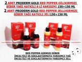 2 Adet Proderm Gold Kırmızı Biber Yağlı+2 Adet Kırmızı Biber Jell