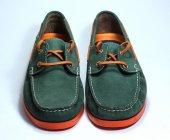 Nubuk Deri Erkek Yeşil Ayakkabı