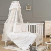 Funna Baby Luna Chic Cibinlik Tülü Paris 5m 0533 Beyaz