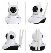Kingboss Fhd P2p 360 Wifi Kablosuz Ip Kamera Güvenlik Bebek İzle