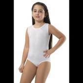 6lı Paket Erdem 4201 Kız Çocuk Pamuk Elastan Geniş Askılı Body