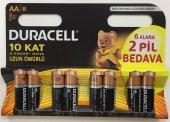 Duracell 6+2 Aa Kalem Pil (8 Adet)