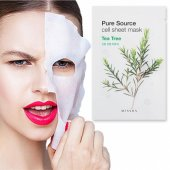 Missha Pure Source Cell Sheet Mask (Tea Tree)