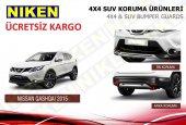 Nissan Qashqai Difüzör Ön Arka Tampon Koruma 2014 2017