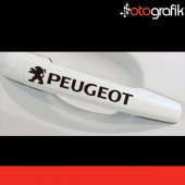 Otografik Peugeot Kapı Kolu Ve Jant Oto Stıcker Seti