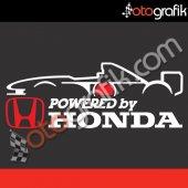 Otografik F1 Powered By Honda Oto Sticker