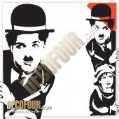Decofour The Kıd Charlıe Chaplın Duvar Stıcker