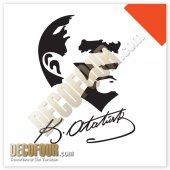 Decofour İmzalı Atatürk Duvar Sticker