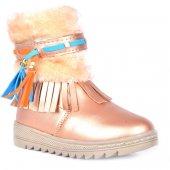 Twingo 9090 Pt Termal Kürklü Fermuarlı Kız Çocuk Bot Ayakkabı
