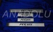 Ford Focus Krom Kapı Eşiği 4 Parça 2011 Üzeri...