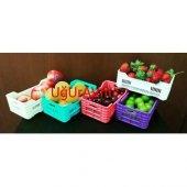 Mini Plastik Meyve Kasası Meyvelik