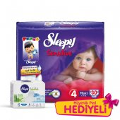 Sleepy Sensitive Maxi Pepee 30 Adet (7 14 Kg)