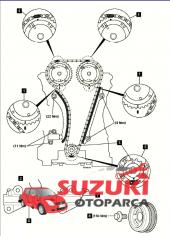 Suzuki Jimny Eksantrik Zincir Seti