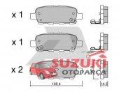 Suzuki Grand Vitara 09 12 Arka Fren Disk Balatası
