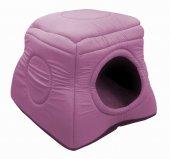 Kedi Köpek Kulübesi Pembe � 50� 50*40 Cm