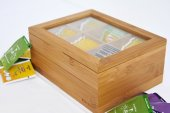 Bambum Misto 6 Bölmeli Çay Kutusu Bitki Çayı Kutusu