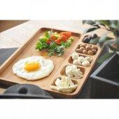 Bambum Carlin Bölmeli Kahvaltı & Sunum Tabağı