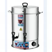 Warm Wasser 60 Bardak Çelik Çay Otomatı & Çay Makinesi Semaver