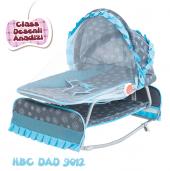 Happy Baby Class Desenli Anadizi(Mavi Gri)