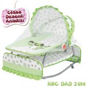 Happy Baby Class Desenli Anadizi(Yeşil Beyaz)