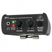Behringer Powerplay P1 Kulak İci Monitör Amfisi Beltpack Kablolu