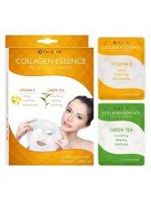 Yüz Maskesi Collagen E Vitaminli Ve Yeşilçay Özlü 2.li. Nu Pore