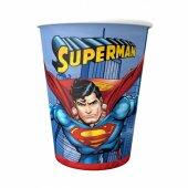 Superman Kağıt Bardak 8 Adetli