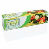 Fresh Up Buz Dolabı Poşeti Orta 30 Adetli 24x38