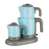 Korkmaz A353 Mia Çay Ve Kahve Makinesi Mavi