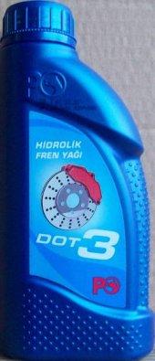 Petrol Ofisi Dot 3 Hidrolik Fren Yağı 0,5 Lt