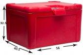 Tex Motor Servis Çanta Thermobox Fast Food Servis Arka Çantası