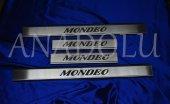 Ford Mondeo Krom Kapı Eşiği 4 Parça 2002 2008