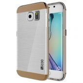 Samsung Galaxy S6 Edge Slicoo Rose Gold Kenarlı Kılıf