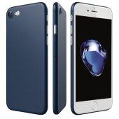 Iphone 8 Ultra İnce Lacivert Kılıf